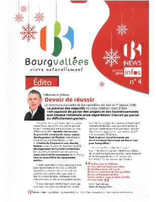 N°4 Janv. 2018 B-News Infos